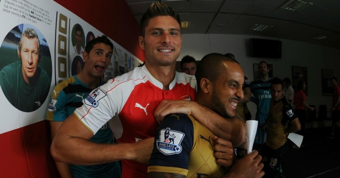 Olivier Giroud: Has lost his place at Arsenal to Theo Walcott