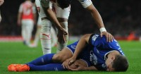 Phil Jagielka: Injured at The Emirates