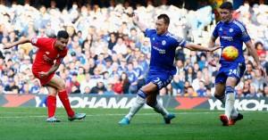 Philippe Coutinho scores Chelsea v Liverpool TEAMtalk