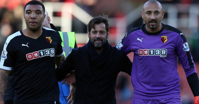 Quique Sanchez Flores Troy Deeney Watford TEAMtalk