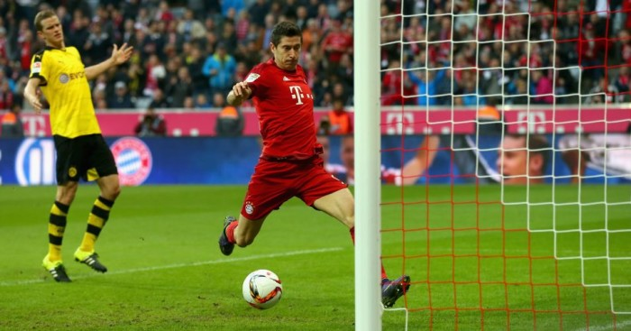 Robert Lewandowski - Bayern Munich striker has 15 goals in six matches