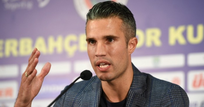 Robin van Persie: Staying put