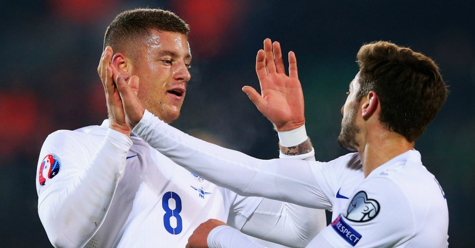 Ross Barkley and Adam Lallana: Celebrate for England