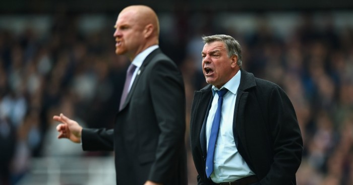 Sean Dyche and Sam Allardyce: Main contenders for Sunderland job