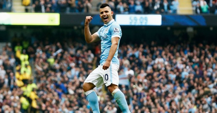 Sergio Aguero: Striker has admitted his admiration of Pep Guardiola