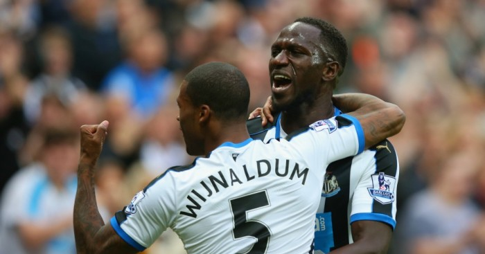 Relegation battle: Newcastle's midfield will be key to survival
