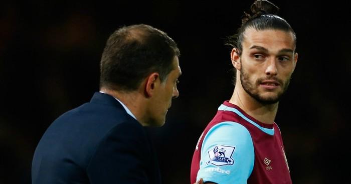 Slaven Bilic Andy Carroll West Ham TEAMtalk