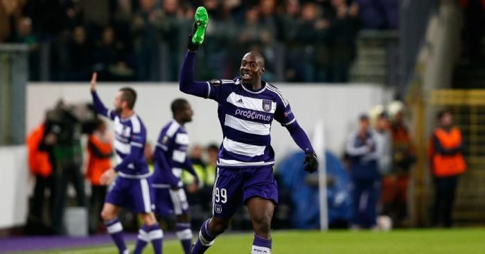 Stefano Okaka Chuka: Scored Anderlecht's winner against Tottenham