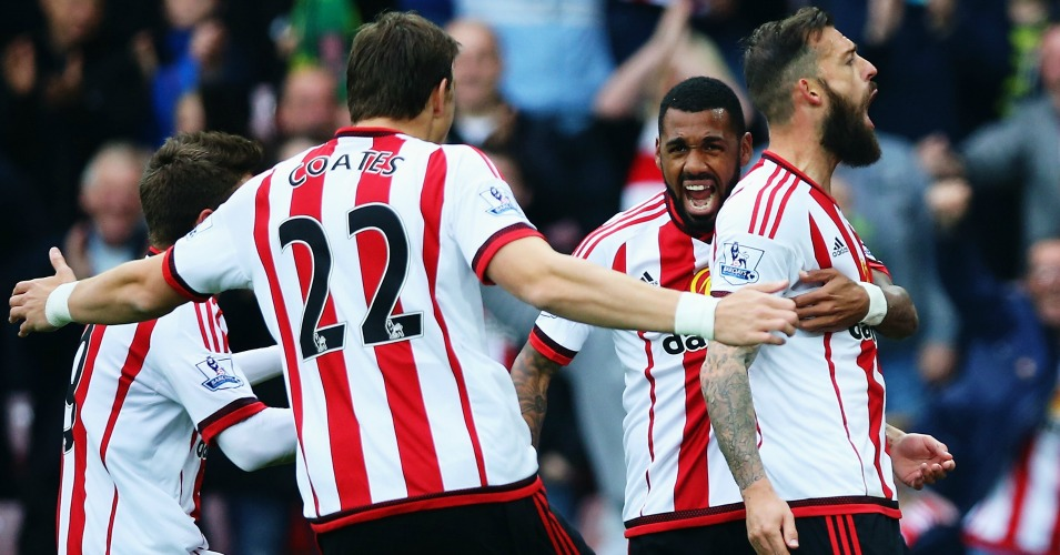 Steven Fletcher: Celebrates Sunderland's opener against West Ham