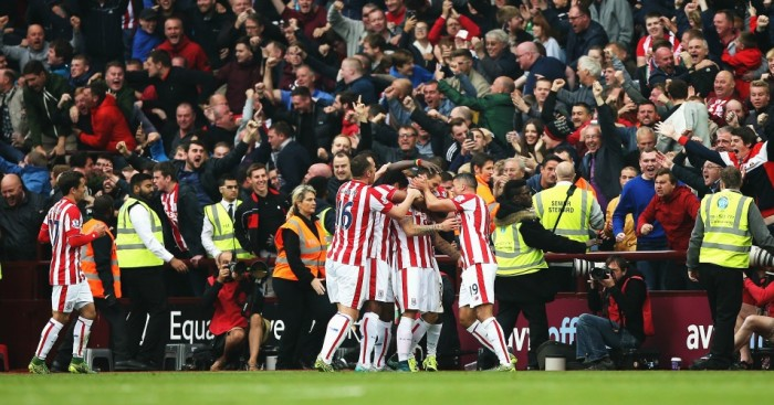 Stoke City: Celebrate at Aston Villa on Saturday