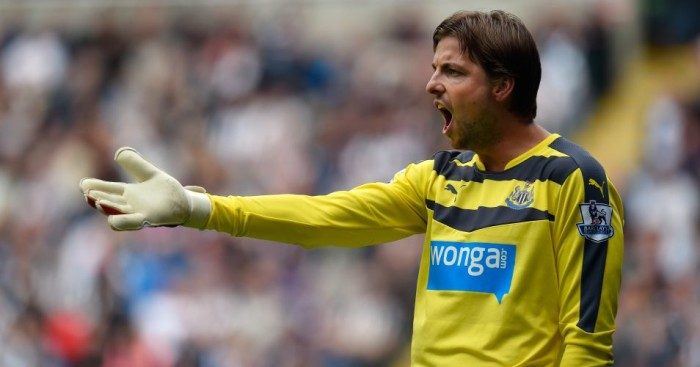 Tim Krul - Newcastle goalkeeper will not play again this season