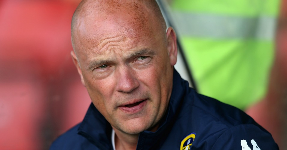 Uwe Rosler: Finds himself under pressure already at Leeds