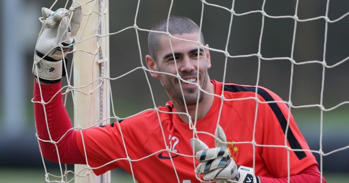 Victor Valdes: Heading out of Old Trafford