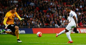 Theo Walcott: Fires England ahead