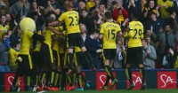 Upset: Watford were expected to find it tough against West Ham