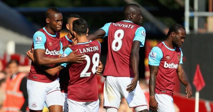 West Ham: Have won first three Premier League away games