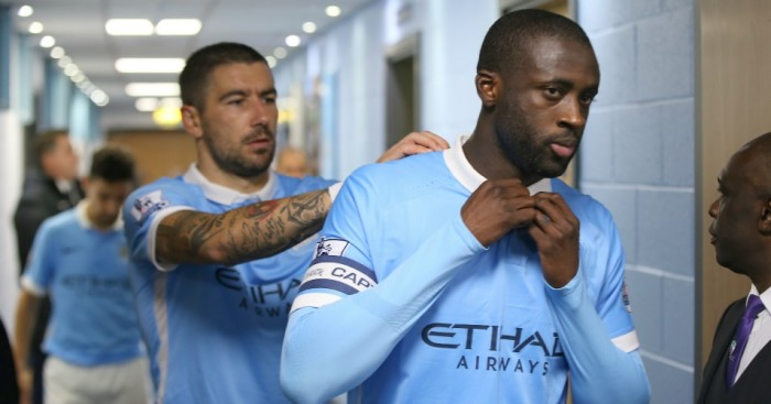 Yaya Toure: Manchester City midfielder enjoys playing against Everton