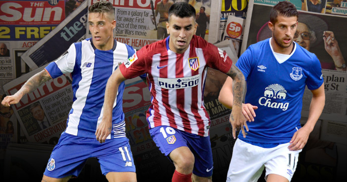 Cristian Tello, Angel Correa, Kevin Mirallas in the news