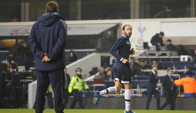 Andros Townsend: Photo via the Daily Mail