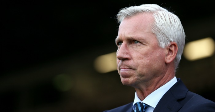 Alan Pardew: Palace host Spurs this weekend