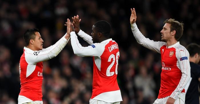 Alexis Sanchez Arsenal celebration