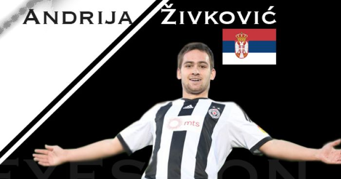 Andrija Zivkovic: Partizan Belgrade winger linked with Chelsea