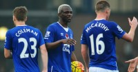 Arouna Kone: Leaves with match ball after hat-trick for Everton