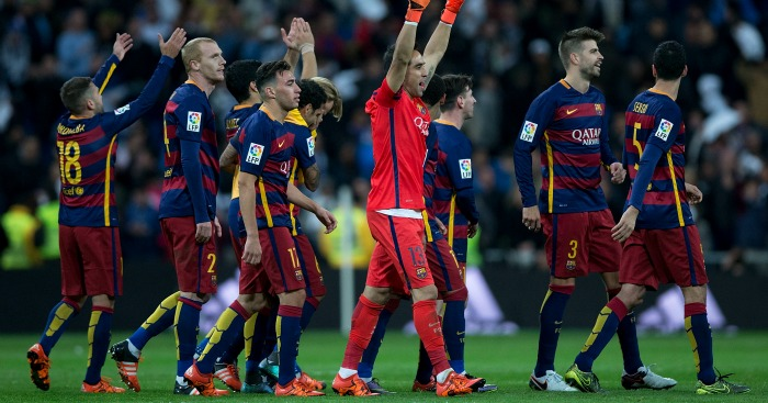 Barcelona: Celebrate 4-0 win at Real Madrid