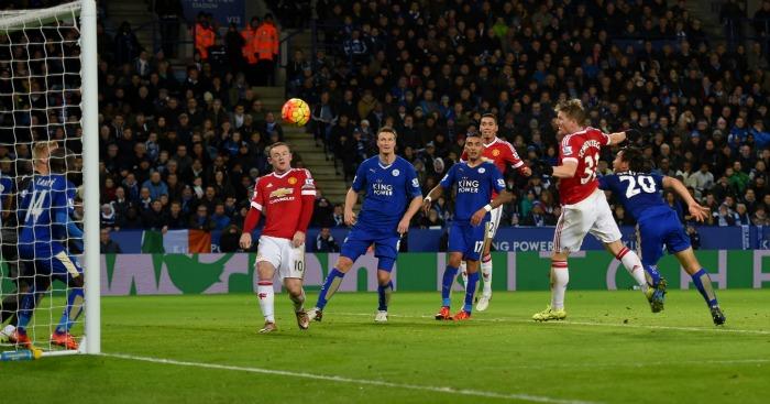 Bastian Schweinsteiger Leicester v Manchester United TEAMtalk