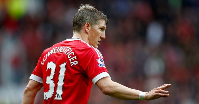 Bastian Schweinsteiger: Tipped to find best form by Louis van Gaal