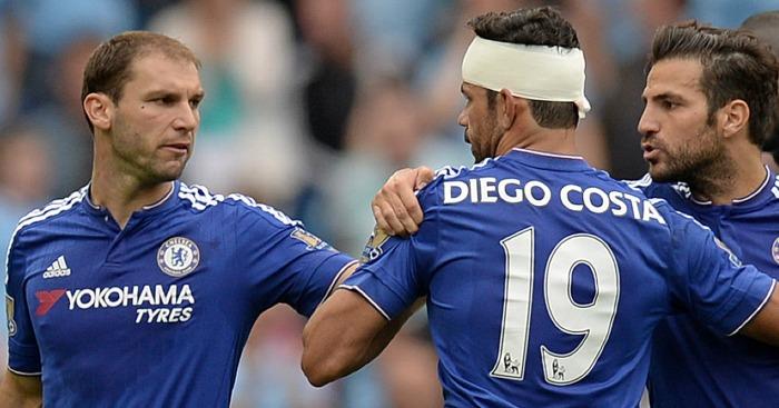 Branislav Ivanovic Diego Costa Chelsea