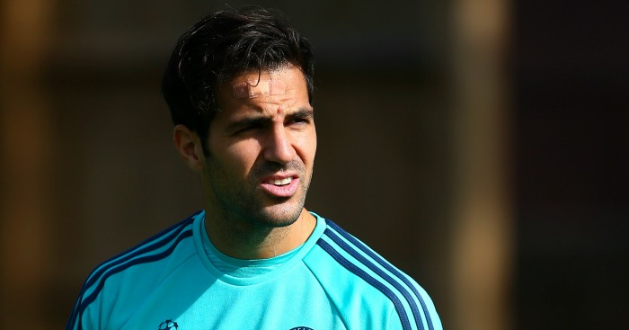 Cesc Fabregas: Struggling for game time at Chelsea