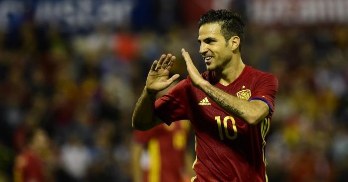 Cesc Fabregas: Midfielder belied club form to star in Spain win