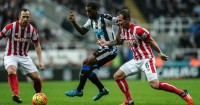 Charlie Adam and Glenn Whelan: Stoke's first-choice midfield pairing