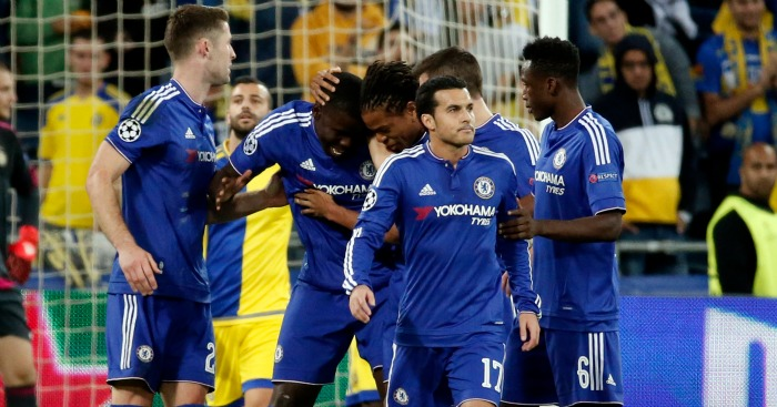 Chelsea: Willian rated as the star in 4-0 win over Maccabi Tel Aviv