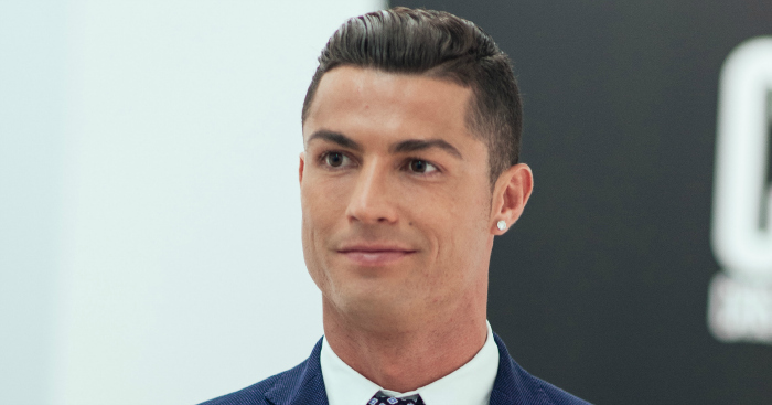 Cristiano Ronaldo: In London to promote his new film