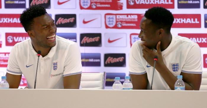 Daniel Sturridge and Danny Welbeck: Injury concerns for England boss