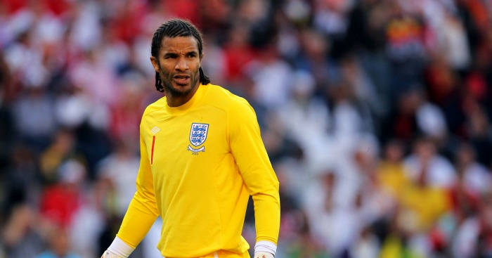 David James: Goalkeeper won 53 caps for England