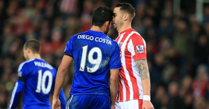 Diego Costa: Poor for Chelsea at Stoke City