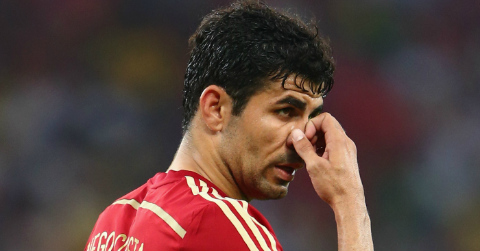 Diego Costa: In line to face Spain next Friday