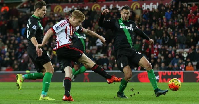 Duncan Watmore scores Sunderland v Stoke TEAMtalk