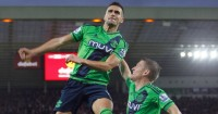 Dusan Tadic: Celebrates his winner from the penalty spot