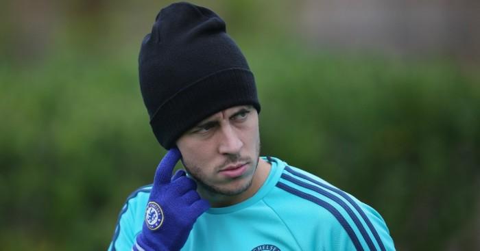 Eden Hazard: Chelsea winger started on bench against Dynamo Kiev