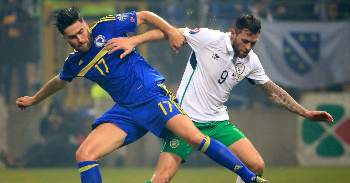 Ervin Zukanovic: Is challenged by Daryl Murphy