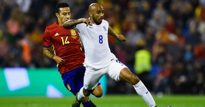 Fabian Delph: Runs free from Thiago Alcantara