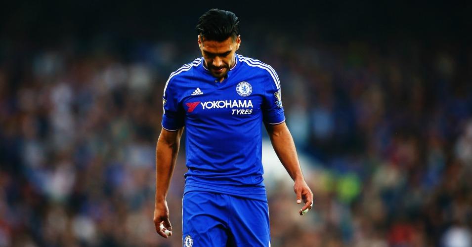 Radamel Falcao: Chelsea strikers suffers injury setback