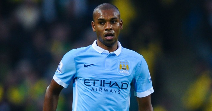 Fernandinho: Has 18 months left on current City deal