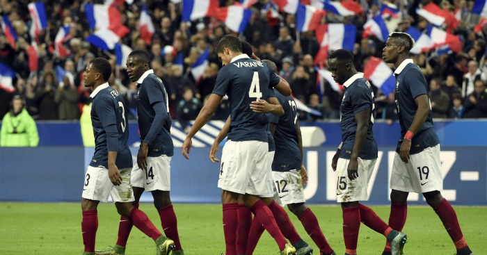 France: Muted celebrations in their win over Germany