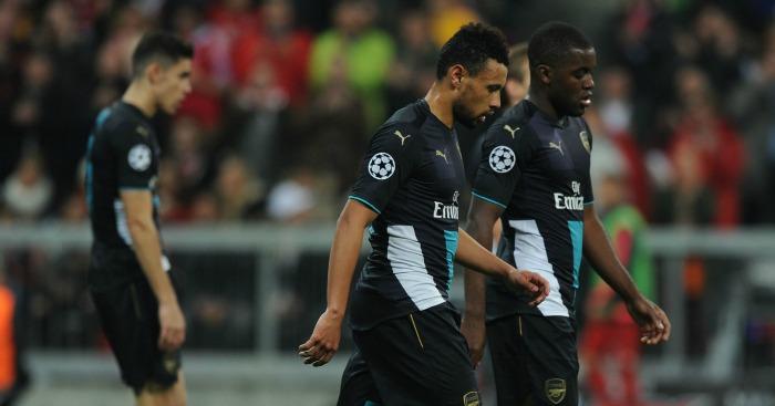 Arsenal: Well beaten at Bayern Munich on Wednesday