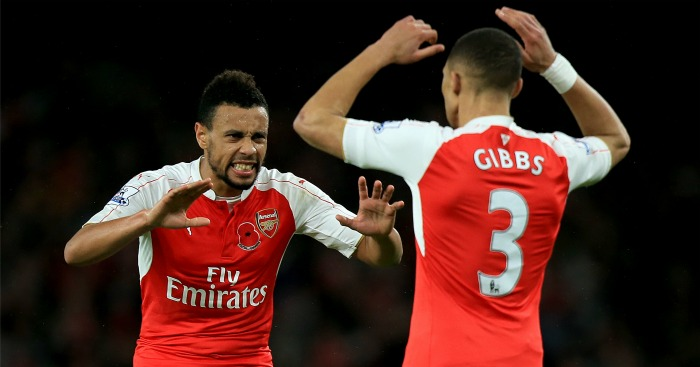Francis Coquelin (l): Affinity with the FA Cup